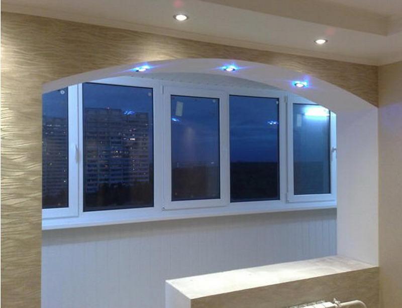 Смоленские балконы - соединение лоджии с кухней, комнатой.