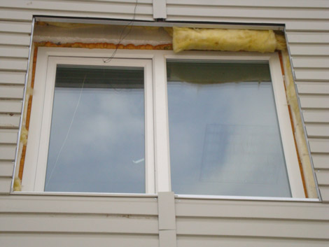 Откосы на окнах наружные металл